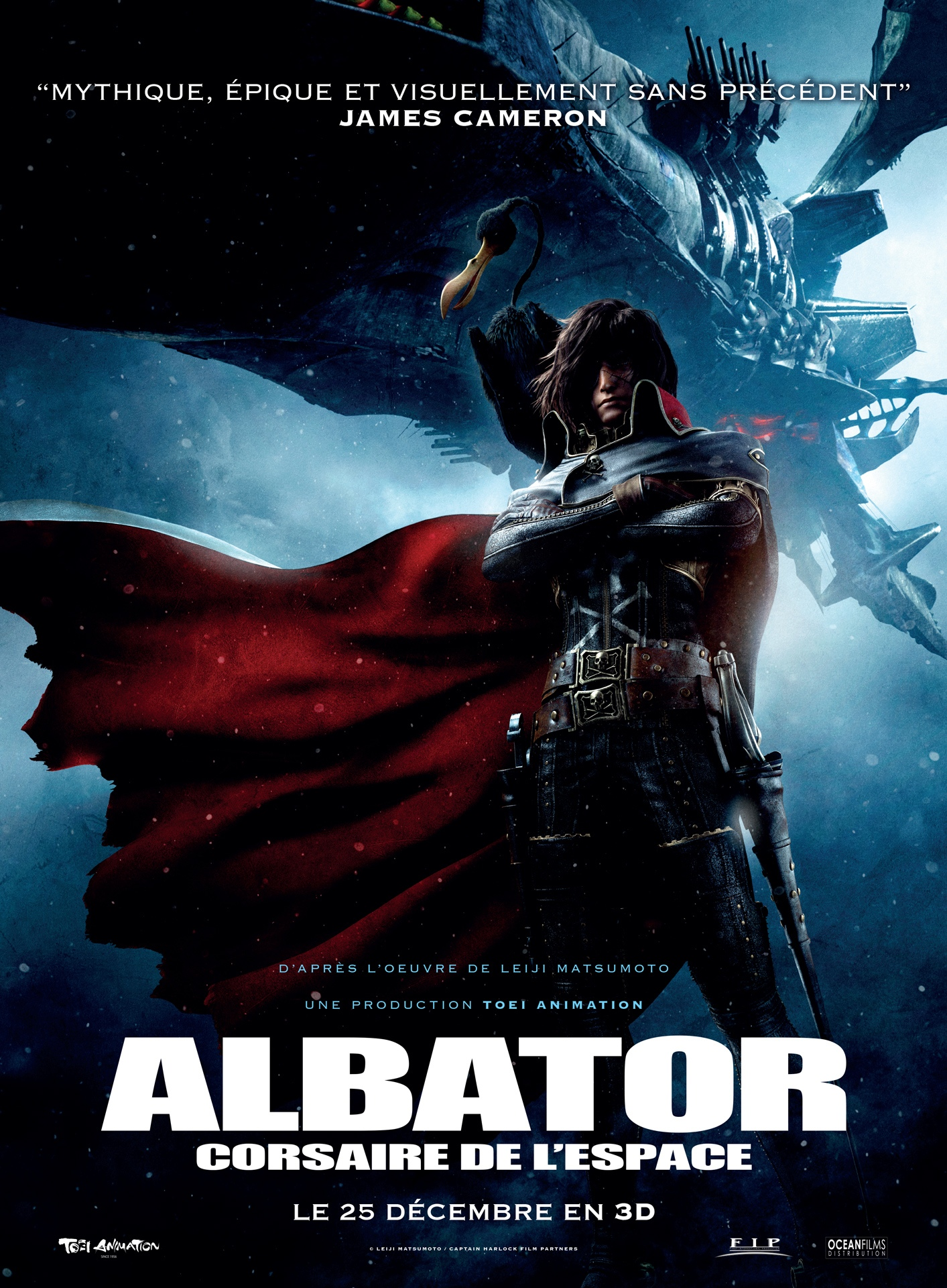 FILMS DE SCIENCE FICTION - Page 4 Albator-Corsaire-de-lEspace-Affiche-France